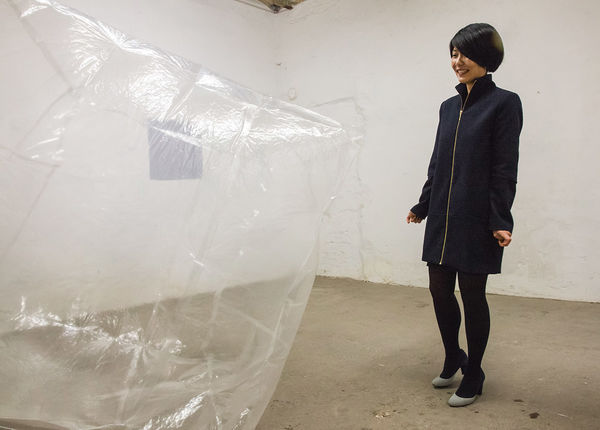 Alice Wang with Object. Photo: C. Zielinski